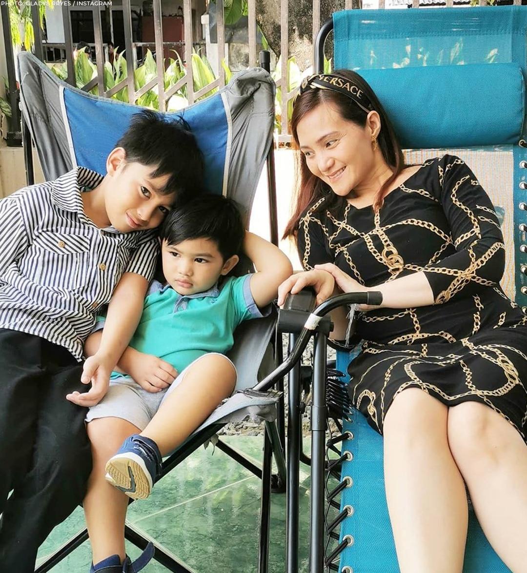 Gladys Reyes' beautiful family photos