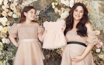 Jerika Ejercito poses with niece Ellie Eigenmann for her gender reveal shoot!