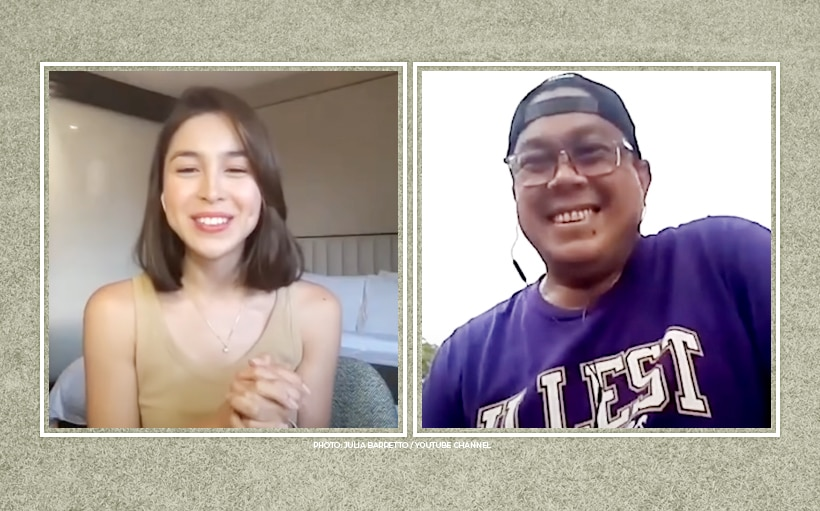 Julia Barretto gets real with dad Dennis Padilla why she wanted to drop Baldivia surname