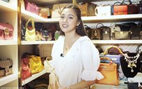 Kim Chiu finally shares her massive designer bag collection