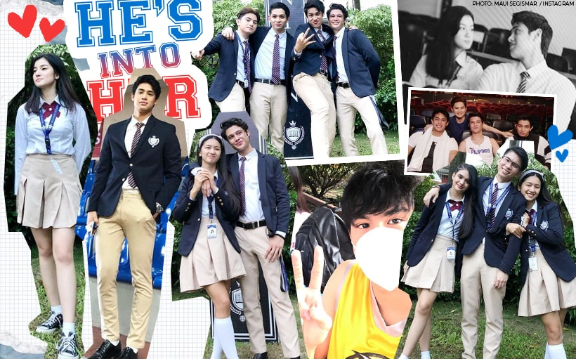 LOOK: Behind-the-scenes photos of the 'He's Into Her' gang