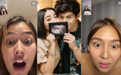 'This is a prank!' Watch Kathryn, Liza's reactions to Riva's pregnancy announcement