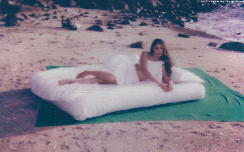 LOOK: Nadine Lustre poses for dreamy beach photo!