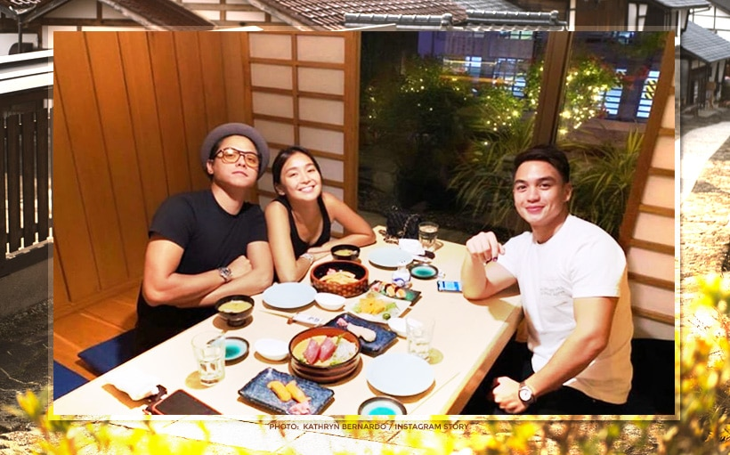 KathNiel 'returns' to Japan with Dominic Roque!