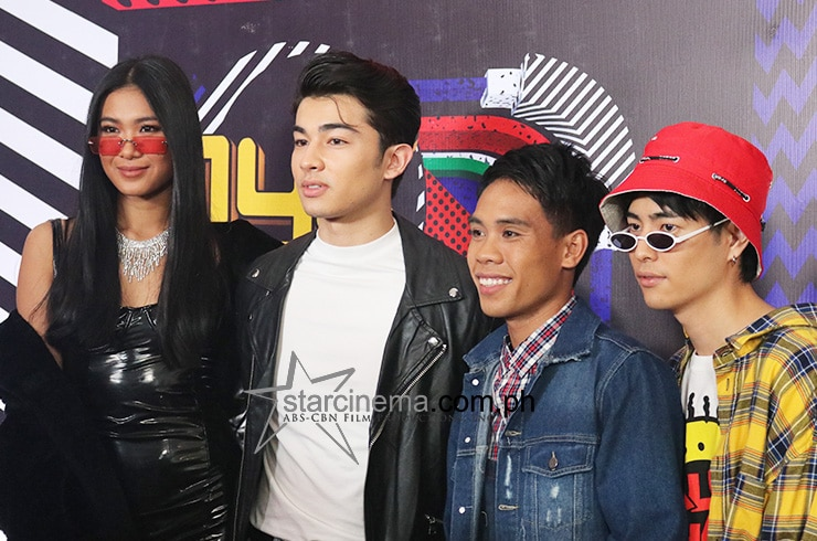 The stars descended for the '90s-themed MYX Music Awards red carpet 2