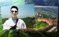 LOOK: Darren Espanto visits the Great Wall of China!