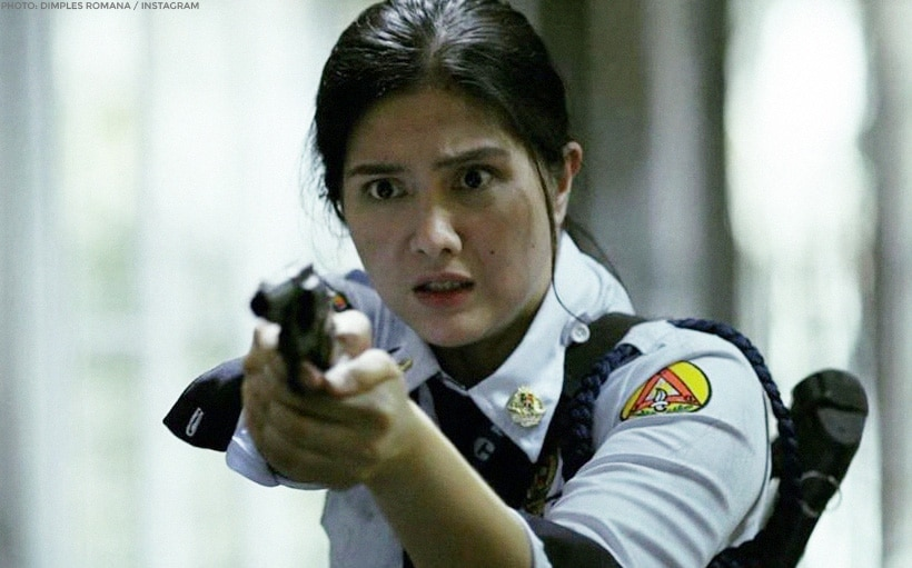 LOOK: Dimples Romana is ready to slay zombies!