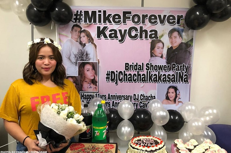 DJ Chacha receives a bridal shower from her fans, Chacha's Angels 1