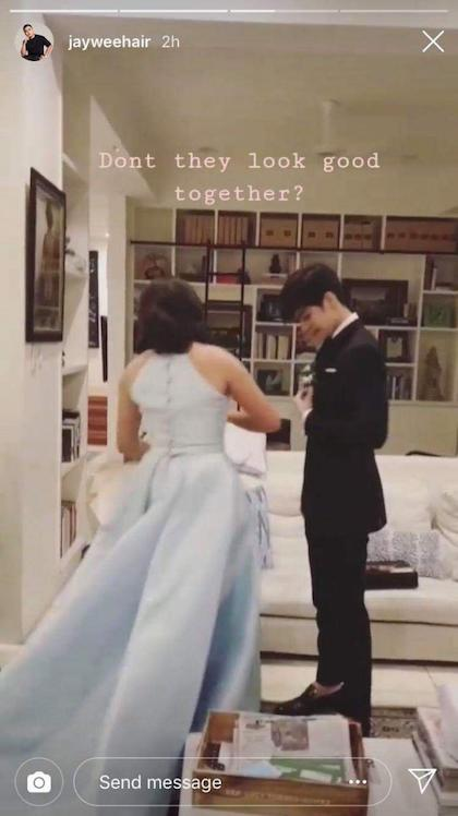 Andres Muhlach and Juliana Gomez at prom! 5