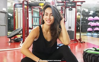 Ina Raymundo gives fitness tips to working moms