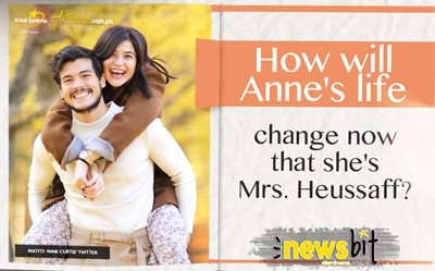 How will Anne's life change now that she's Mrs. Heussaff?