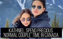 KathNiel, spend precious 'normal couple' time in Canada