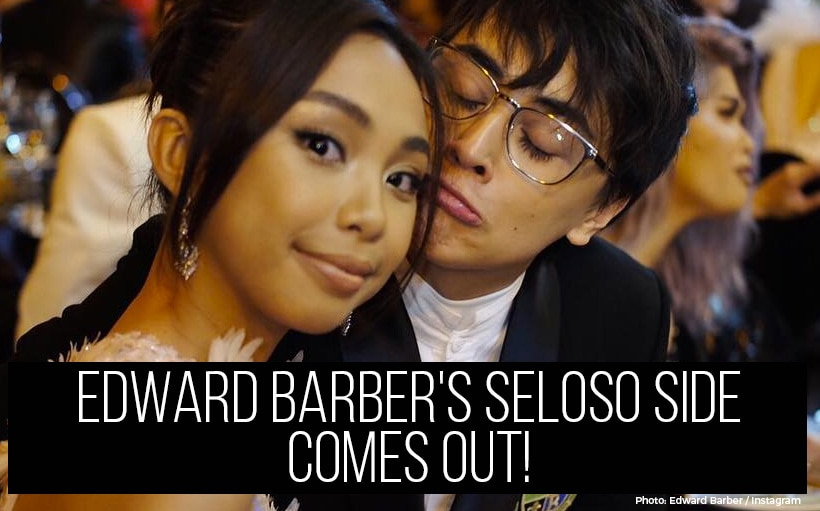 Edward Barber's seloso side comes out!