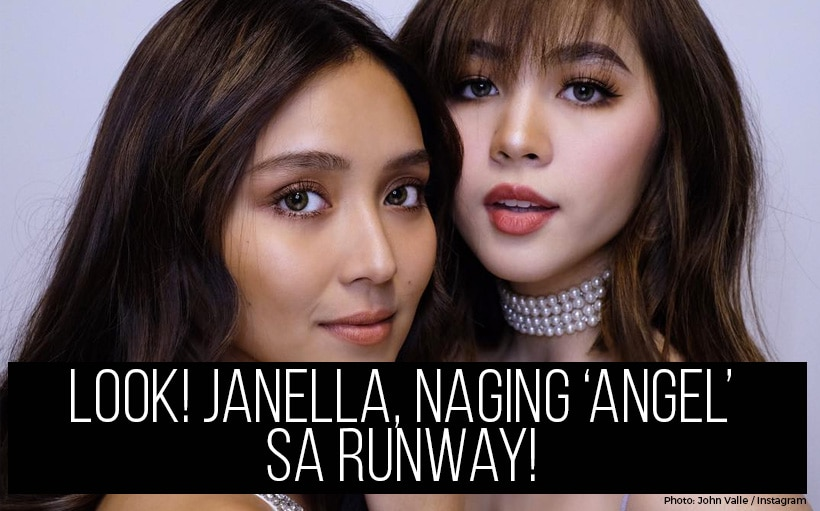 LOOK! Janella, naging 'angel' sa runway!