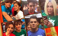 LOOK: 'Fantastica' stars filming the ABS-CBN Christmas Station ID!
