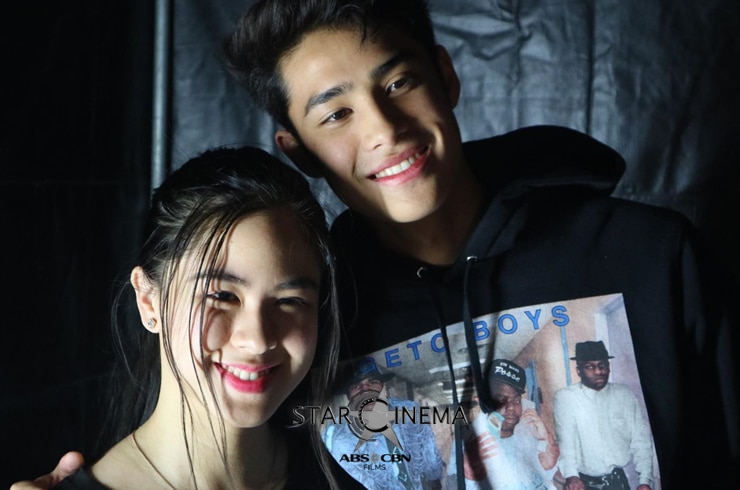 Backstage sweetness from Donny Pangilinan and Kisses Delavin!