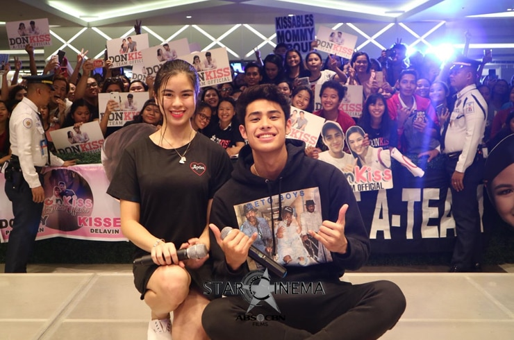 Can DonKiss get any cuter?