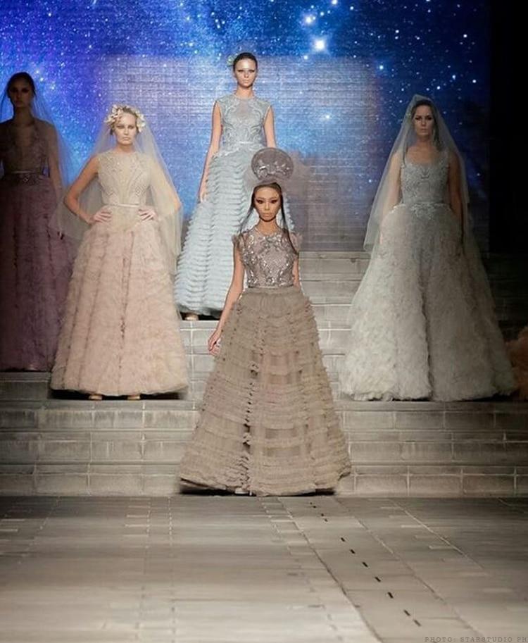 Maymay at the Arab Fashion Week 2018 7