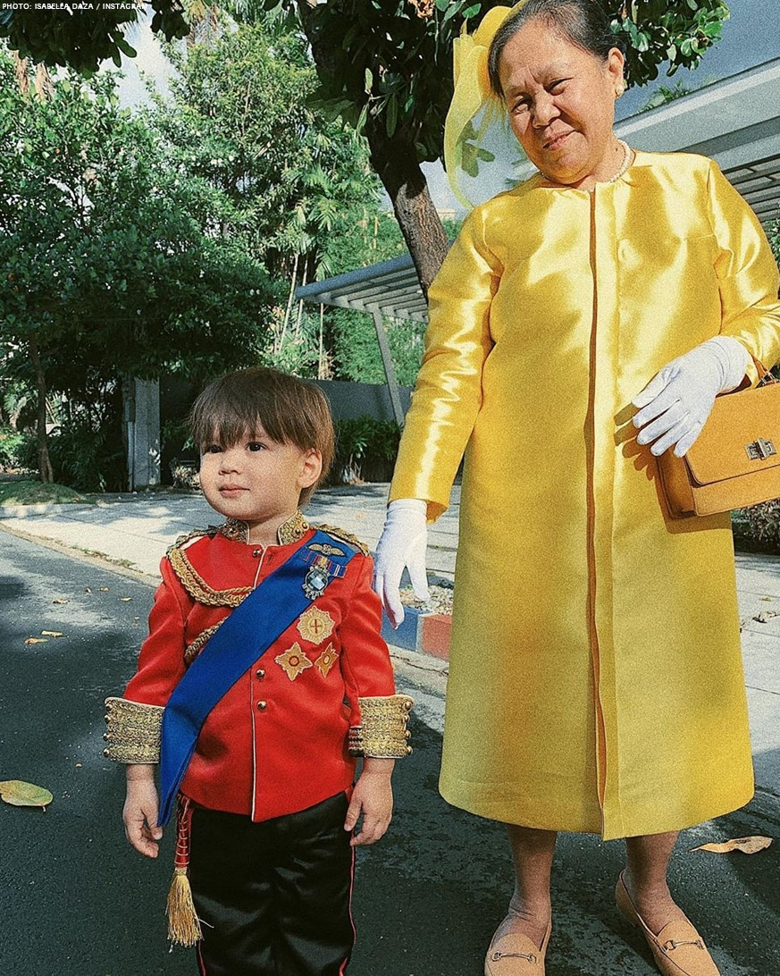 Isabelle Daza's son Balthazar charms in his Little Prince costume!