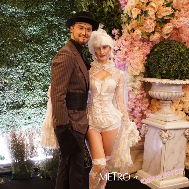 The stars who graced this year's Opulence Halloween event
