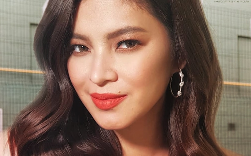 Angel Locsin, spotted buying relief goods for Mindanao quake victims