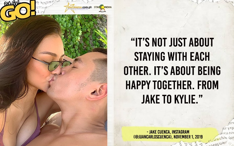 Jake and Kylie share a romantic kiss in Bali! | Star Cinemaa