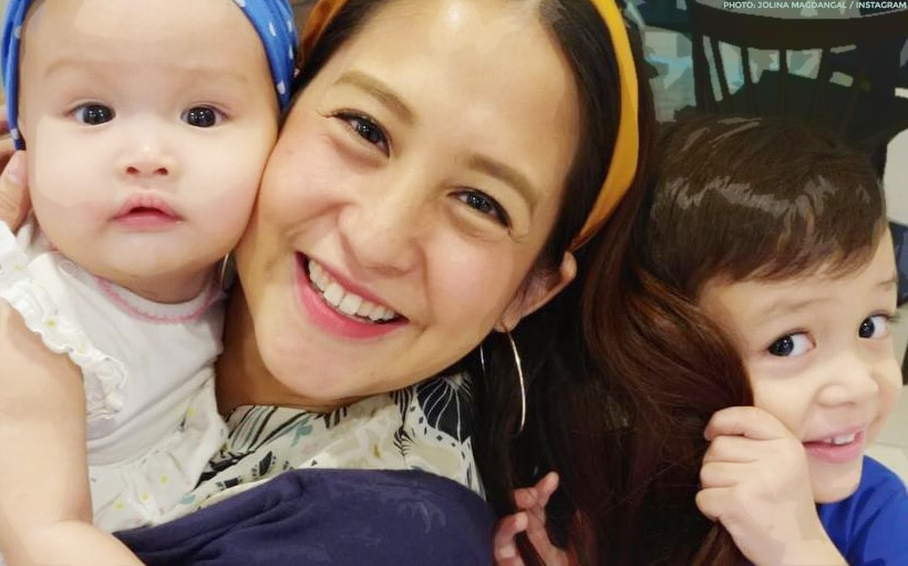 Jolina Magdangal gets recognized for advocating breastfeeding