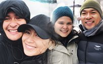 Giorgia Guidicelli and fiance celebrate AshMatt's engagement!