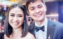 Sarah Geronimo and Matteo Guidicelli, 'practicing' parenthood!