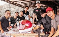 Daniel Padilla, Zanjoe Marudo travel to Tanay via motorcycle!