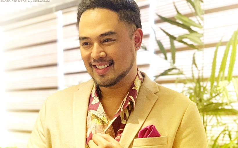 Jed Madela, thankful over CMMA recognition