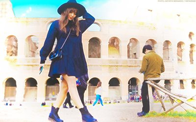 IN PHOTOS: Kathryn and Daniel explore Rome