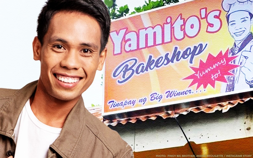 Yamyam Gucong opens his first bakery business in Bohol!