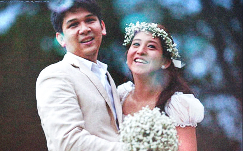 Jolina Magdangal to husband Mark Escueta: 'Thank you for saving my heart'