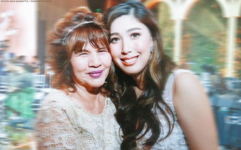 Dani Barretto's grandmother Hershey Legaspi meets Baby Millie!