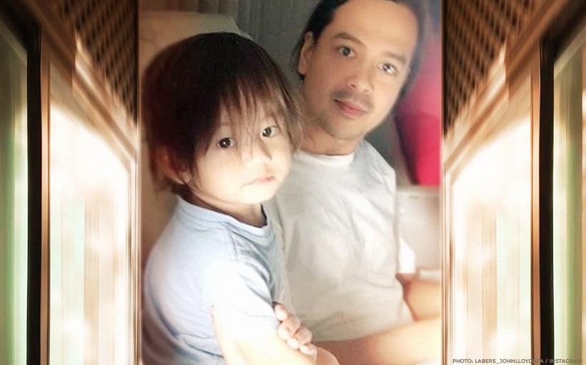 SPOTTED: John Lloyd Cruz bonds with Baby Elias!