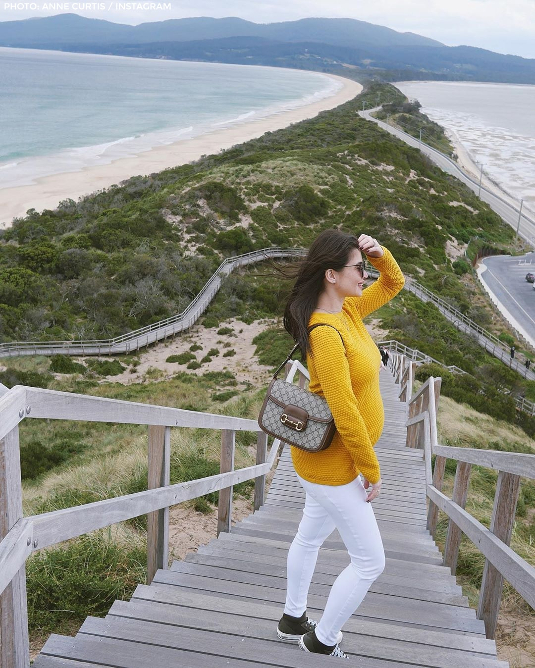 Anne and Erwan enjoy the sights in Australia 2