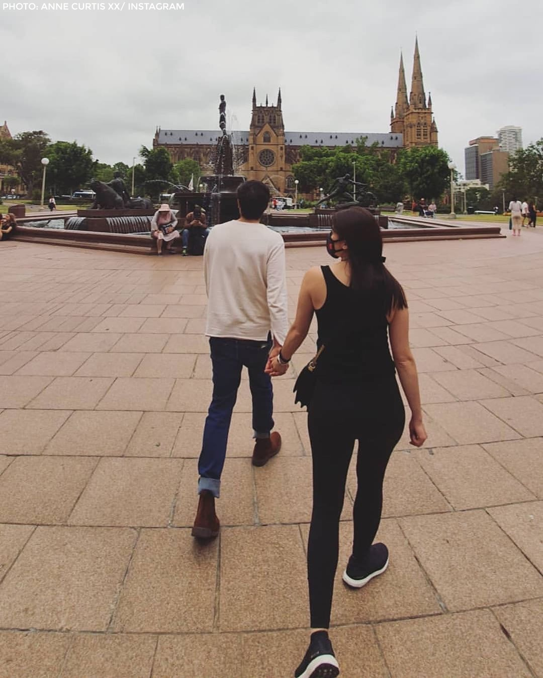 Anne and Erwan enjoy the sights in Australia 4