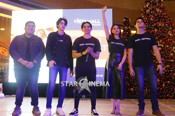 'Unbreakable' Vistamall Taguig mall show 9