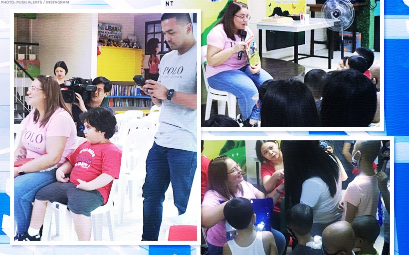 Karla Estrada celebrates 45th birthday with cancer patients