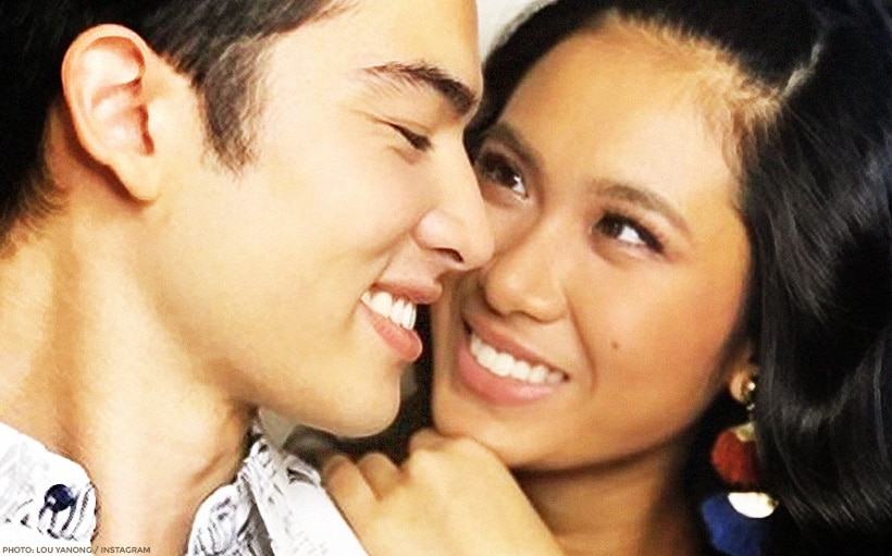 Lou and Andre mark their eighth monthsary!