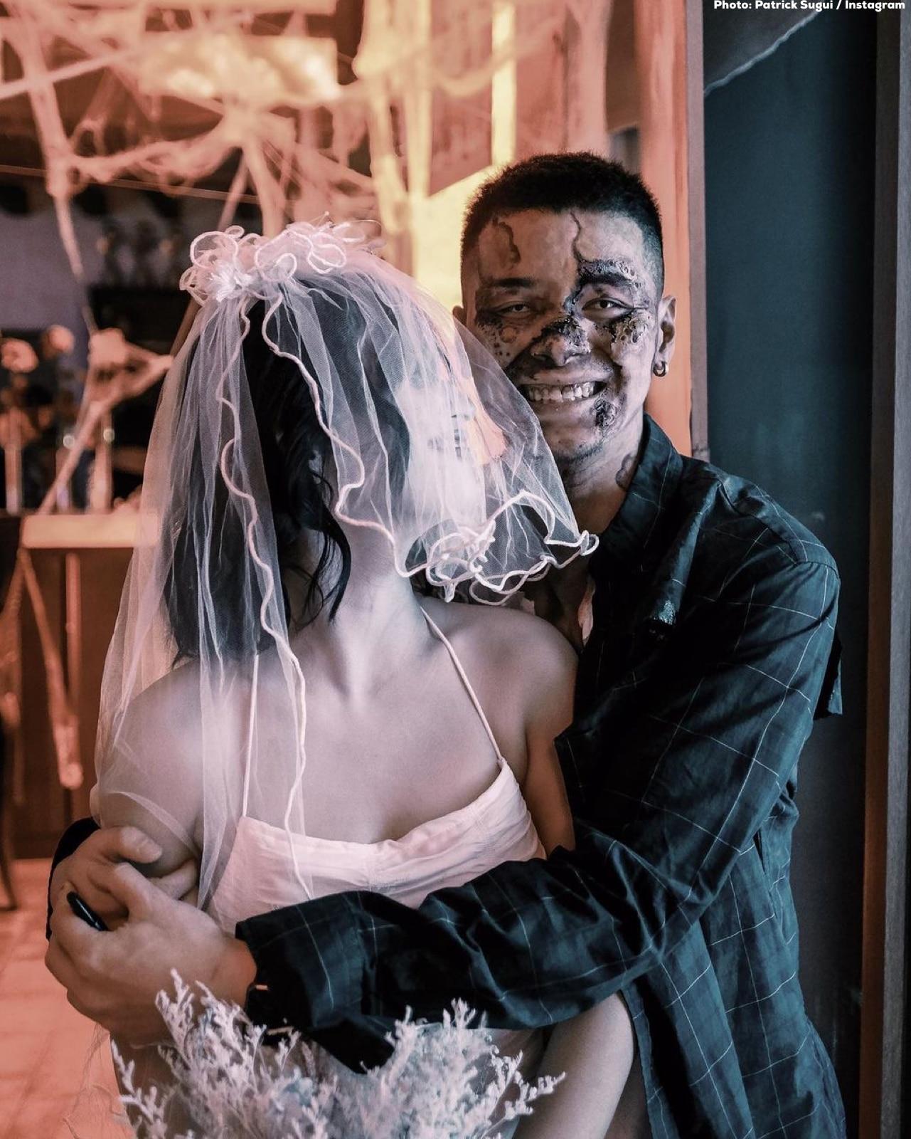 Patrick Sugui with girlfriend Aeriel Garcia