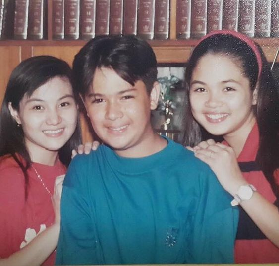 Teen Judy Ann, Gladys, and Christopher Roxas