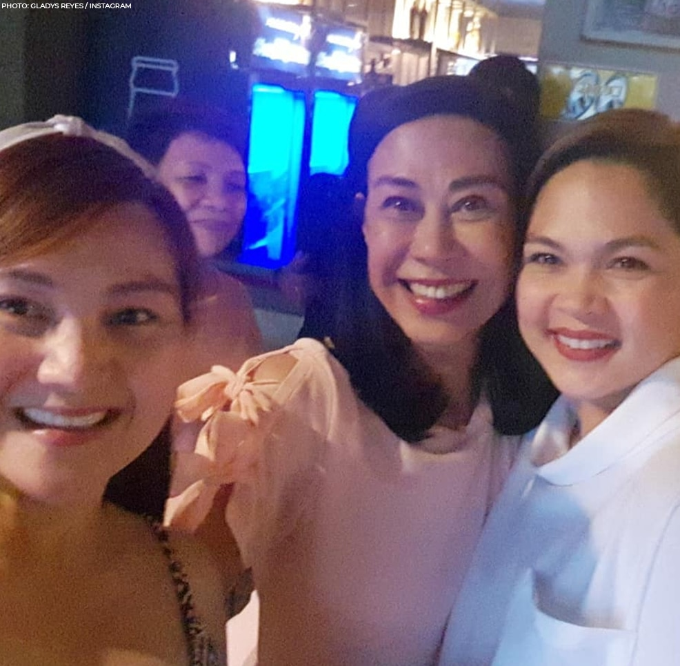 "At the ""Mara Clara"" year-end party in 2018!"