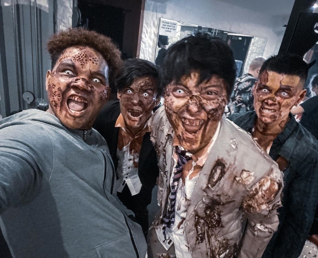 Nguya Squad's spooky 'undead' Halloween!