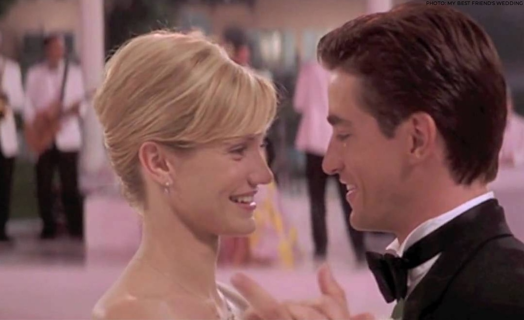 Kimberly (Cameron Diaz) and Michael (Dermot Mulroney) in