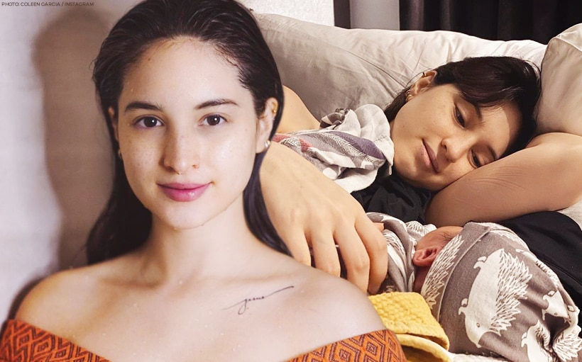 Coleen Garcia responds to criticism about her use of breastmilk to treat her baby's rashes