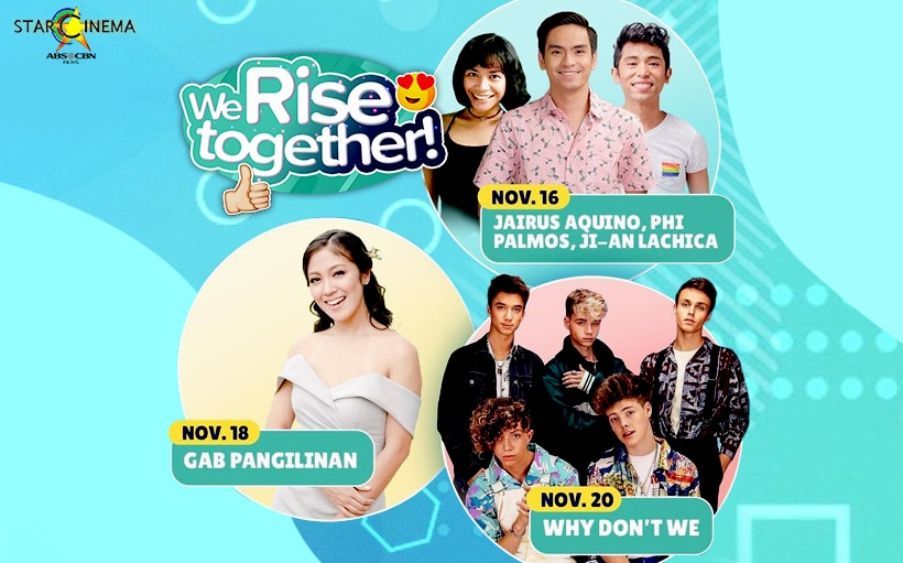 This Week on 'We Rise Together': Phi and Jairus for 'Boyette,' Gab on working with Jameson and Joao + more!
