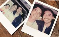JC Alcantara shares kilig 'cuddle' photo with Tony Labrusca!