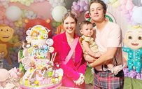 A peek into Zoe's 1st birthday party with parents Sofia Andres and Daniel Miranda!